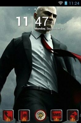 android theme 'Hitman'
