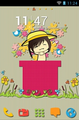 Spring Time android theme