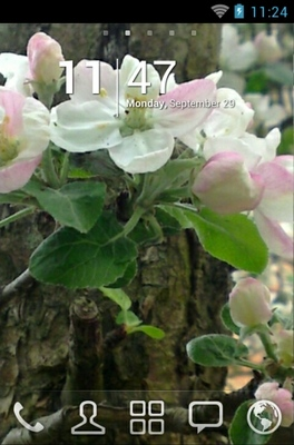 android theme 'Spring'