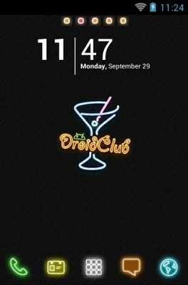 Droid Club android theme