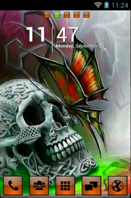 Skullie android theme