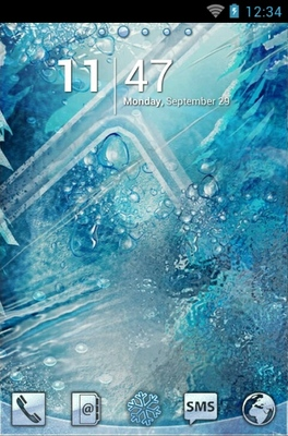 android theme 'Ice'