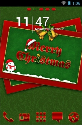 android theme 'Android Christmas'