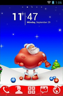 android theme 'Christmas'