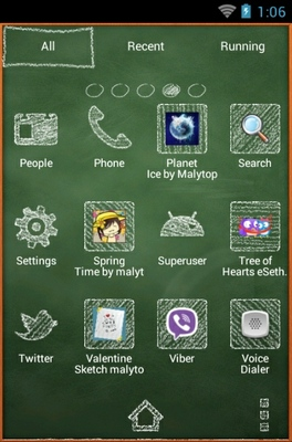 Learning Android android theme application menu