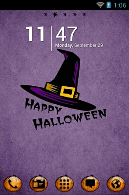 android theme 'Happy Halloween'
