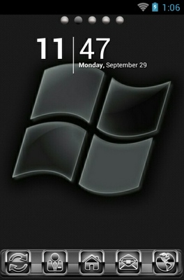 android theme 'Windows Logo'