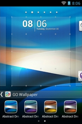 Abstract Dream android theme wallpaper
