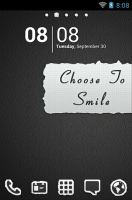 android theme 'Smile'