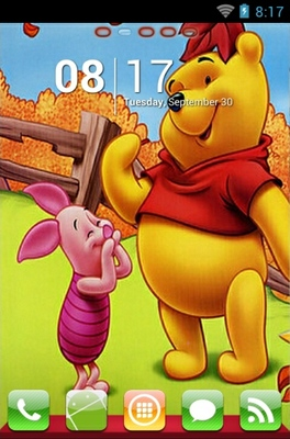 android theme 'Winnie The Pooh'