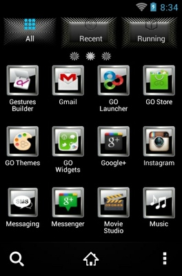 Playboy android theme application menu