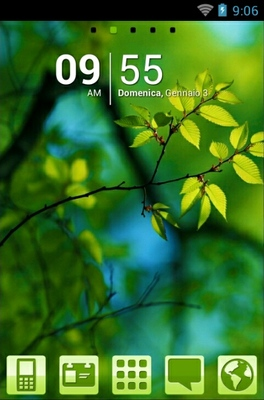 android theme 'Green Nature'