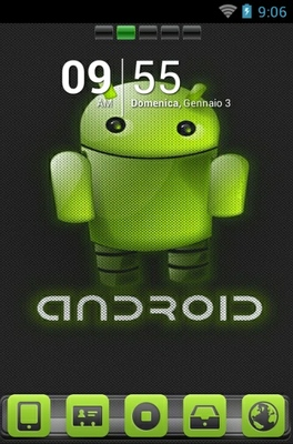 android theme 'Android Green'
