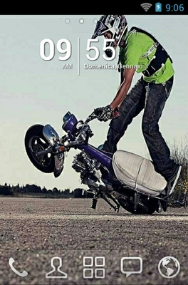Bike Stunt android theme