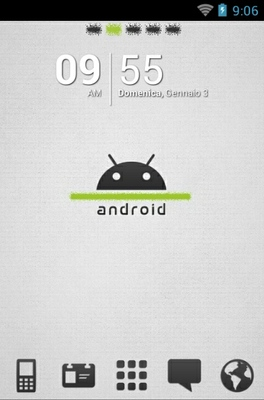 android theme 'Android White'