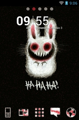 android theme 'Scary Rabbit'