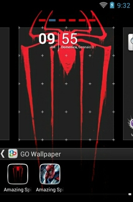 Amazing Spiderman android theme wallpaper