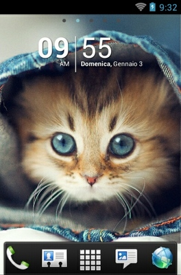 android theme 'Kitten'
