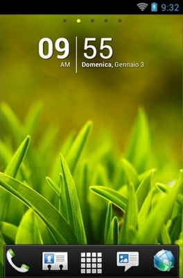 android theme 'Grass'