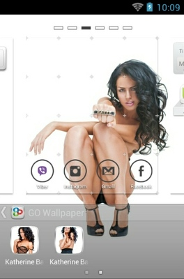 Katherine Bazhenov android theme wallpaper