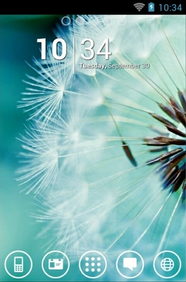 android theme 'Dandelion'