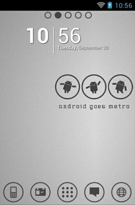 android theme 'Android Metro White'