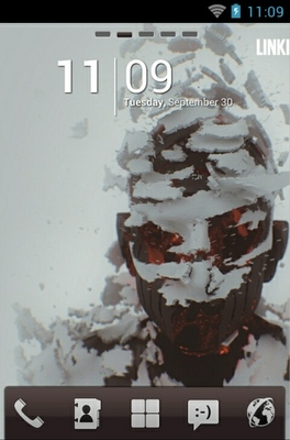 android theme 'Living Things Linkin Park'