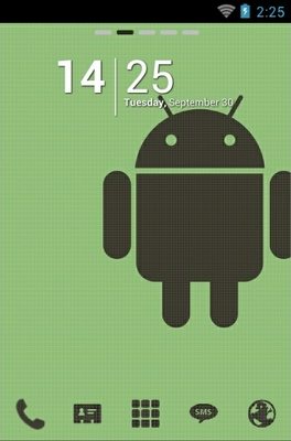 android theme 'Retro Android'