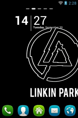 android theme 'Linkin Park'