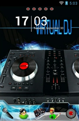 android theme 'Virtual DJ'