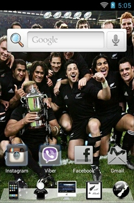 android theme 'All Blacks'
