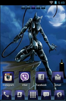 android theme 'Catwoman Vs Batman'