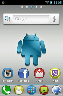 Hd Android android theme home screen
