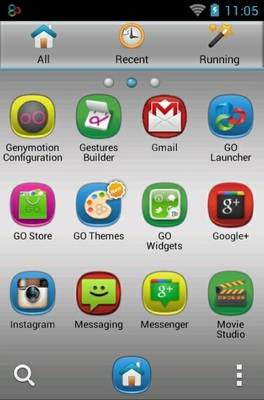 Hd Android android theme application menu