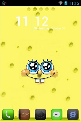 SpongeBob android theme
