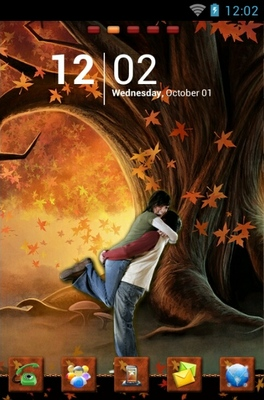android theme 'Romance'