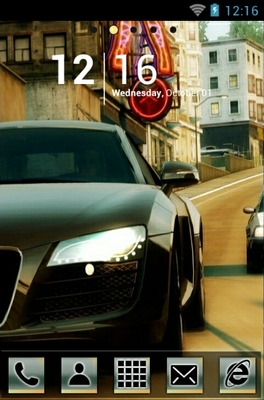 android theme 'NFS Undercover'