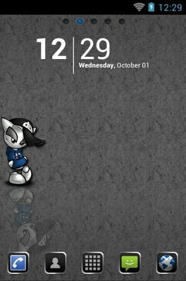 android theme 'Mr Lonely'
