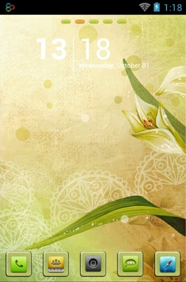 android theme 'Vector Lily'