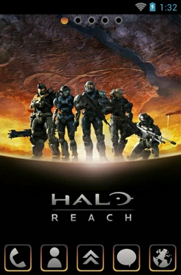 android theme 'Halo Reach'