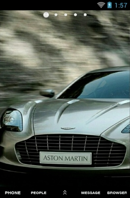 android theme 'Aston Martin'