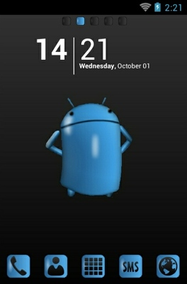 android theme 'Android Gloss'