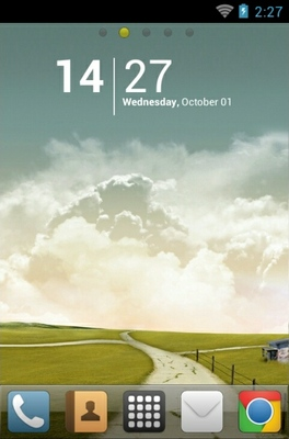 android theme 'Autumn'