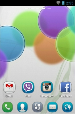 Nokia android theme home screen