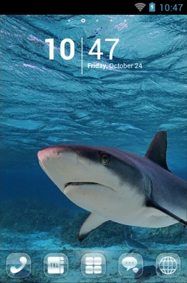 android theme 'Shark'