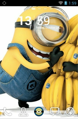 android theme 'Delightful Minions'