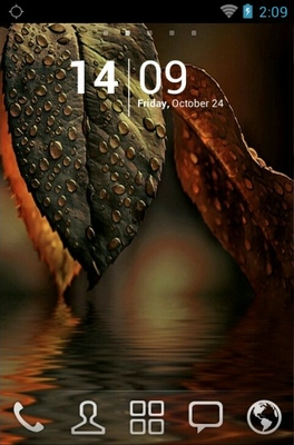 android theme 'Water Leaf'