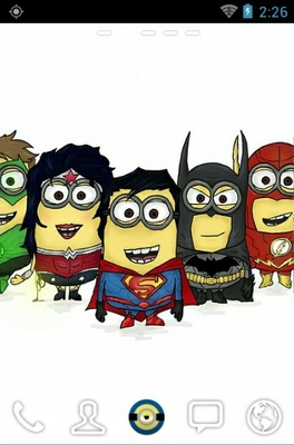 android theme 'Superhero Minions'