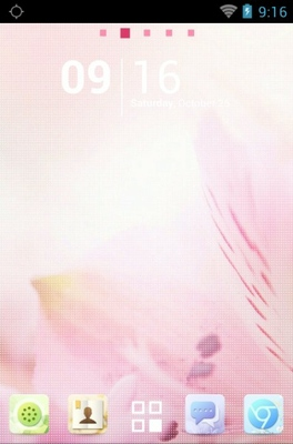 android theme 'Bloom'