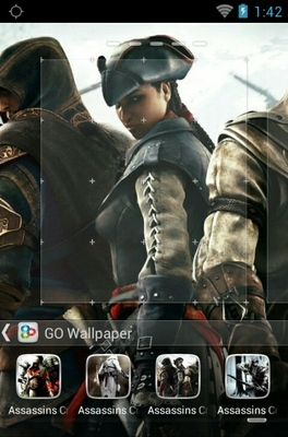 Assasins Creed android theme wallpaper